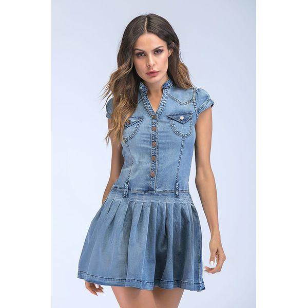 ceab223bfc Sukienka w kolorze niebieskim - Sukienki damskie marki Cupid Killer ...