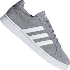 Adidas Cloudfoam Super Hoops Mid Szare Nowa Kolekcja Buty
