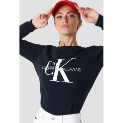 56569c10e2780 CALVIN KLEIN. Bluzy damskie. 404.95 zł. Calvin Klein Bluza Institutional  Logo - Grey.