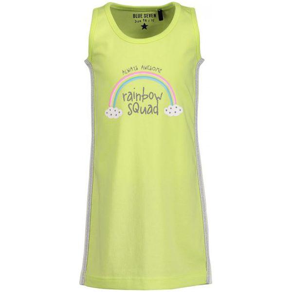2b0e114777 Blue Seven Sukienka Dla Dziewczynek Z Tęczą 98 Zielony - Sukienki ...