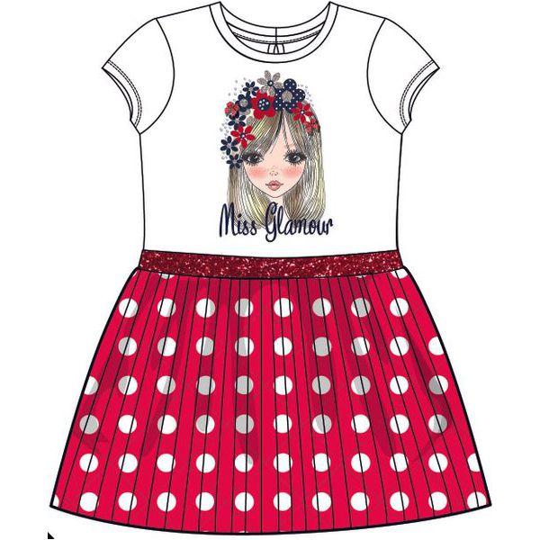 0231a78a Mix 'N Match Sukienka Dziewczęca 116 Czerwony