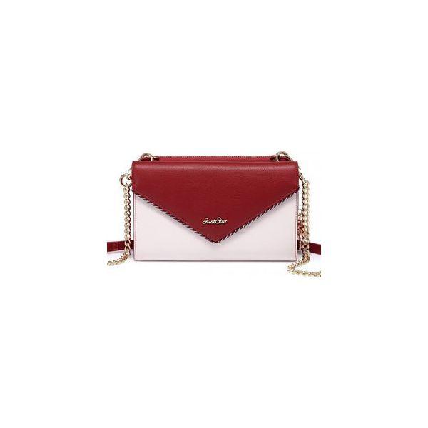 7528e0fc7a828 Dwustronna elegancka kopertówka czerwona - Torebki wieczorowe marki ...