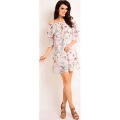 826266a5 Białe sukienki damskie Molly.pl, trapezowe - Kolekcja lato 2019 ...