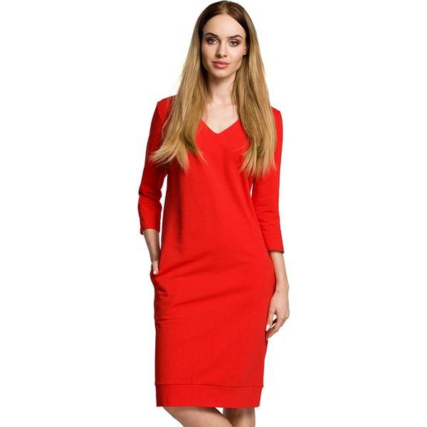 0f00b6eef9 Sukienka w kolorze czerwonym - Czerwone sukienki damskie marki Made ...
