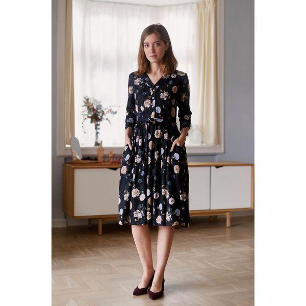 0d7fc99957 Sukienka Alodia Mignon 32 czarny - Sukienki damskie marki Marie ...