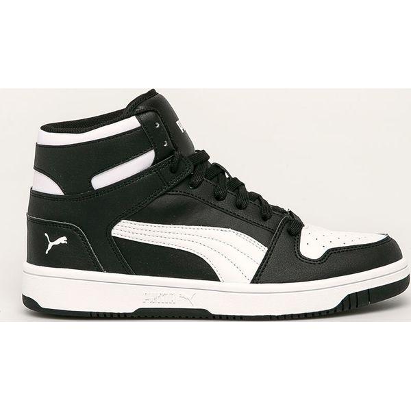 Puma buty Rebound czarno białe