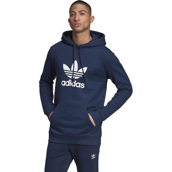Mężczyźni Niebieski Bluzy z Kapturem | adidas PL
