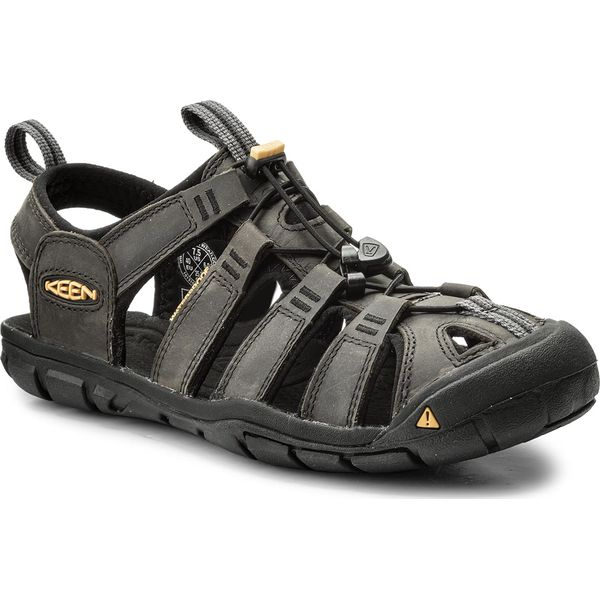 3feca3c79b22 Sandały KEEN - Clearwater Cnx Leather 1013107 Magnet Black - Sandały ...