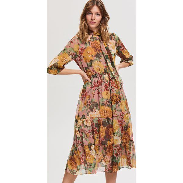 b3581e7e Sukienka w kwiaty - Wielobarwny