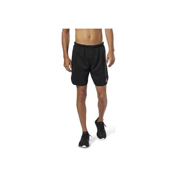 Reebok Run Essentials Two in One Shorts M Czarne