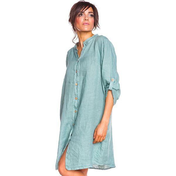 06f63585a686f5 Lniana sukienka