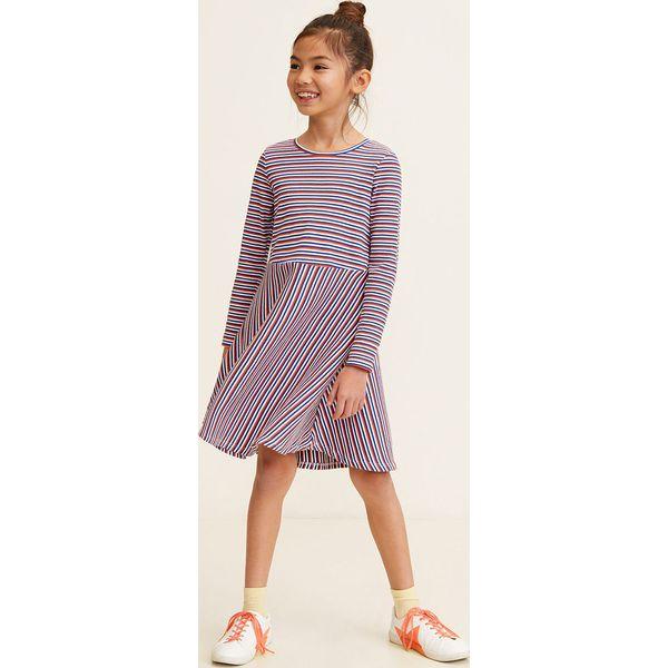 a7b2f42e02 Mango Kids - Sukienka dziecięca Caplan 110-152 cm - Sukienki ...