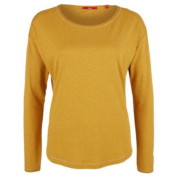 b866fd302f S.Oliver T-Shirt Damski 40 Żółty - T-shirty damskie marki S.Oliver. Za  59.90 zł. - T-shirty damskie - T-shirty i topy damskie - Odzież damska -  Kobieta ...