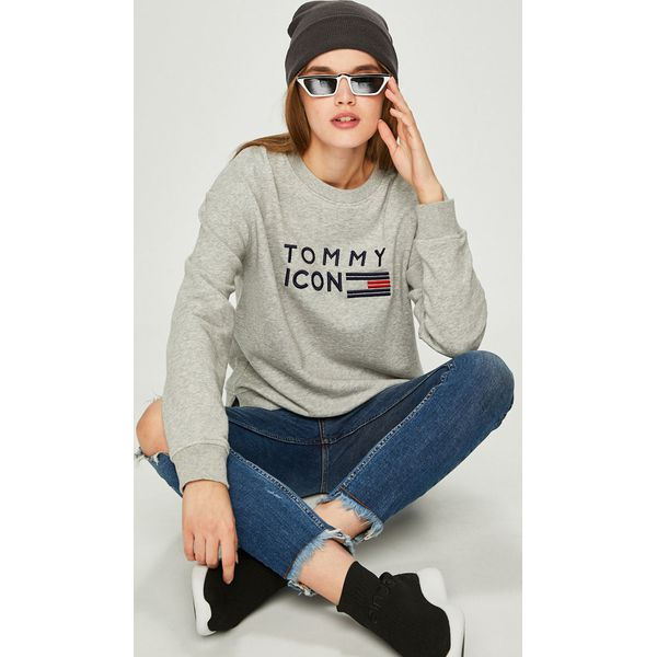 8c06053e95075 Tommy Hilfiger - Bluza Tommy Icons - Bluzy bez kaptura damskie marki ...