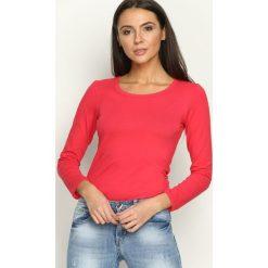 Bordowa Bluzka Around Born2Be Bluzki damskie czerwone