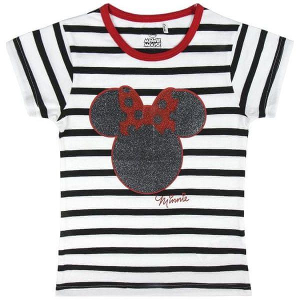 883d58c220f8bd Disney Koszulka Dziewczęca Minnie 128 Biały/Czarny - Koszulki ...