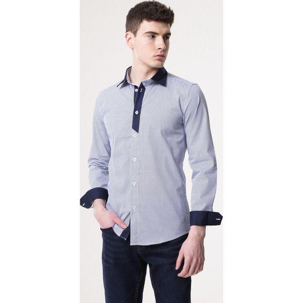 f5704d794a6c6a Niebieska Koszula Meter - Koszule męskie Born2be. Za 44.99 zł ...