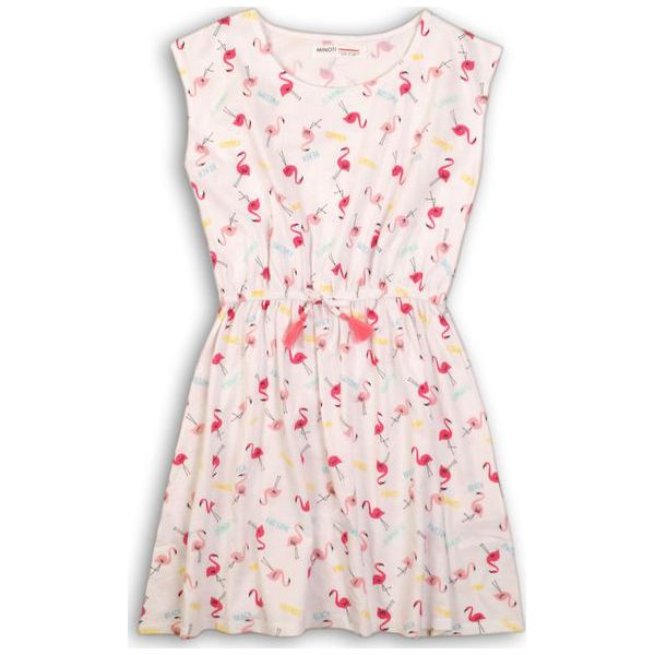 4d3aeacd Minoti Sukienka Dziewczęca 140 Różowa