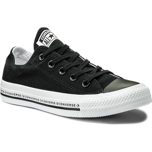b03a7a2ffe982 Trampki CONVERSE - Ctas Ox 159587C Black/Black/White - Trampki i ...