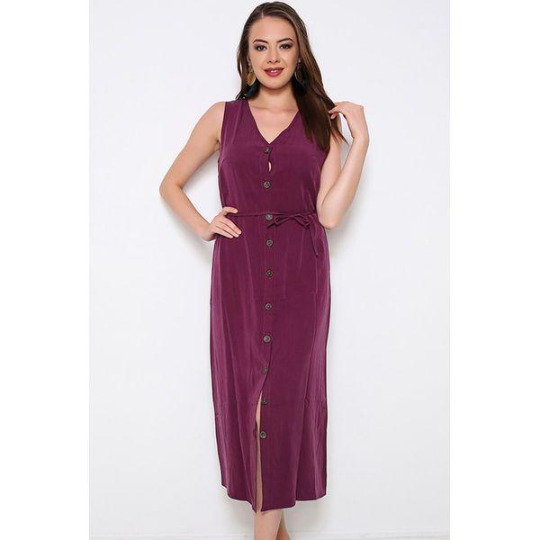 7407239c7d Sukienka w kolorze fioletowym - Fioletowe sukienki damskie marki ...