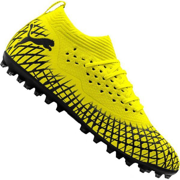 Buty piłkarskie Puma Future 4.2 Netfit Mg M 105681 02 żółte żółty