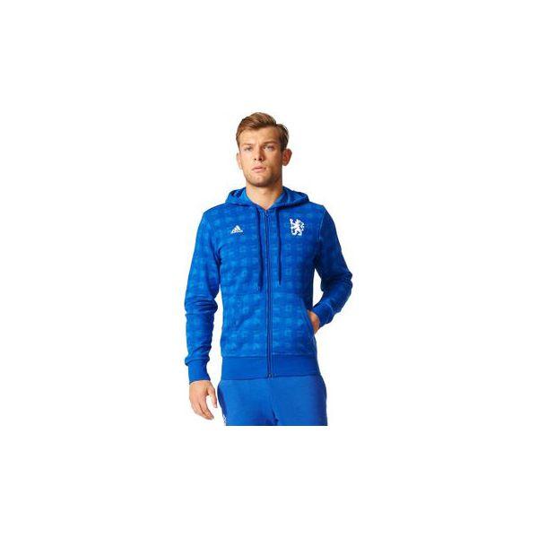Adidas Bluza męska Chelsea CFC SSP FZ HD niebieska r. M (B47773)