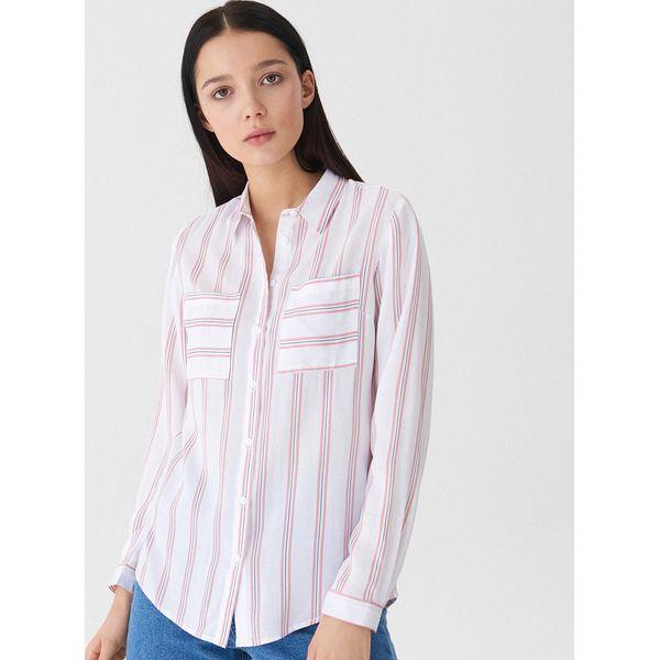 d023e126b40e7f Koszula w paski - Różowy - Czerwone koszule damskie House, l, bez ...