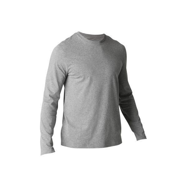 1d0e7166f Koszulka długi rękaw Regular Gym & Pilates 120 męska - Koszulki męskie z długim  rękawem DOMYOS. Za 19.99 zł. - Koszulki męskie z długim rękawem - T-shirty  i ...