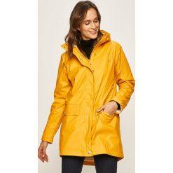 Żółte kurtki przeciwdeszczowe damskie Kolekcja zima 2020