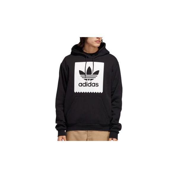 Adidas Bluza męska Solid Bb Hoodie czarna r. L