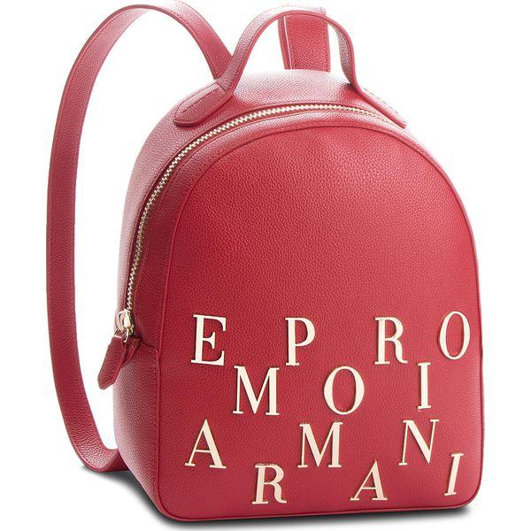 36804416223d9 Plecak EMPORIO ARMANI - Y3L020 YH60A 80133 Ruby Red - Czerwone plecaki  damskie marki Emporio Armani, ze skóry. Za 1,139.00 zł. - Plecaki damskie -  Torebki i ...