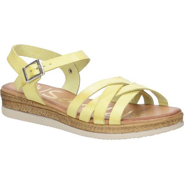 Obuwie Damskie Buty Sandały skórzane Oh My Sandals 3441