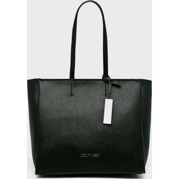 7174e39129be6 Calvin Klein - Torebka - Czarne torebki klasyczne damskie marki ...
