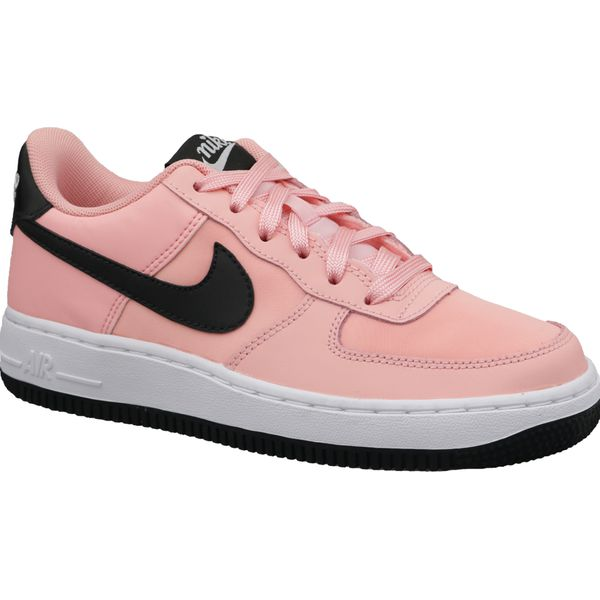 Nike Air Force 1 VDay Gs BQ6980 600 buty skate, buty sneakers uniseks różowe 38