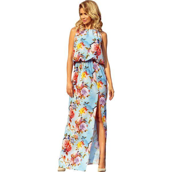 7ac3ad54034e82 Wyprzedaż - niebieskia odzież damska bez kołnierzyka, bez ramiączek -  Kolekcja lato 2019 - Sklep Super Express