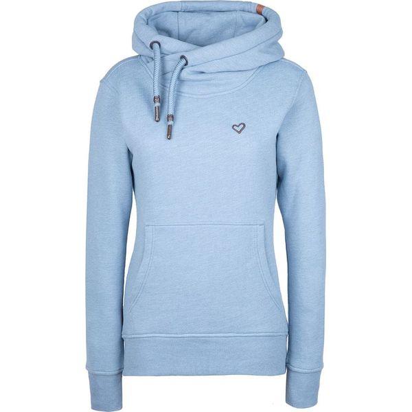 niebieska bluza Adidas w gwiazdki rozpinana sezon wiosenny