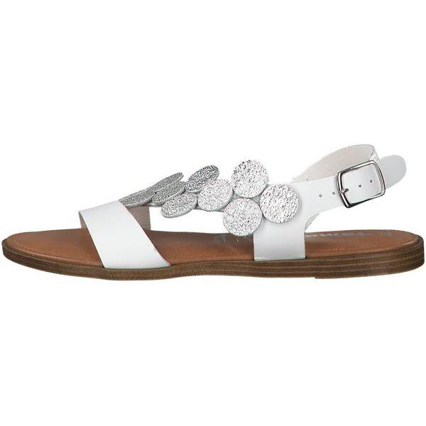 226362b2f8fc3a Białe sandały damskie - Kolekcja lato 2019 - Sklep Super Express