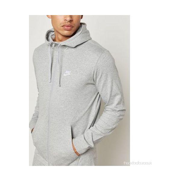 6f72c56a Nike Bluza męska M NSW Hoodie FZ JSY Club szara r. XL (861754-063)