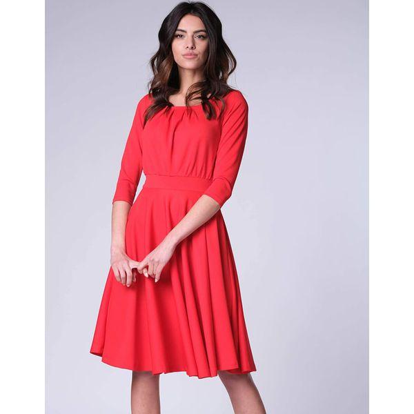 bbbe35b45e Sukienka w kolorze czerwonym - Czerwone sukienki damskie marki ...