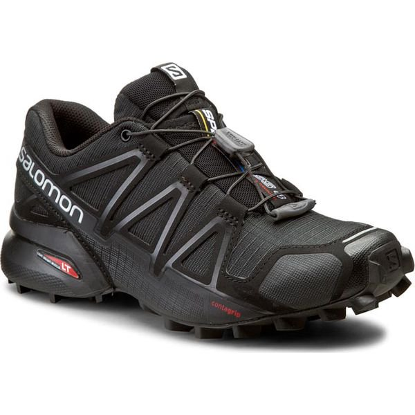 Buty SALOMON Speedcross 4 W 383097 20 V0 BlackBlackBlack Metallic
