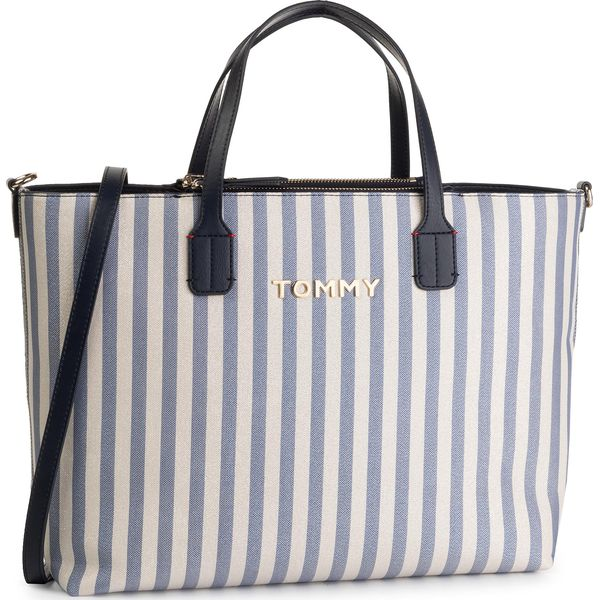 8ea8e5f21 Torebka TOMMY HILFIGER - Iconic Tommy Satchel Glitter AW0AW07042 901 ...