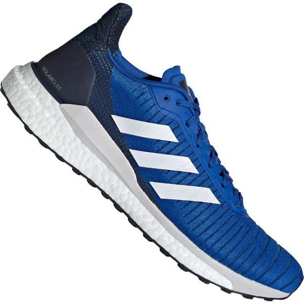 buty adidas męskie do biegania niebieskie