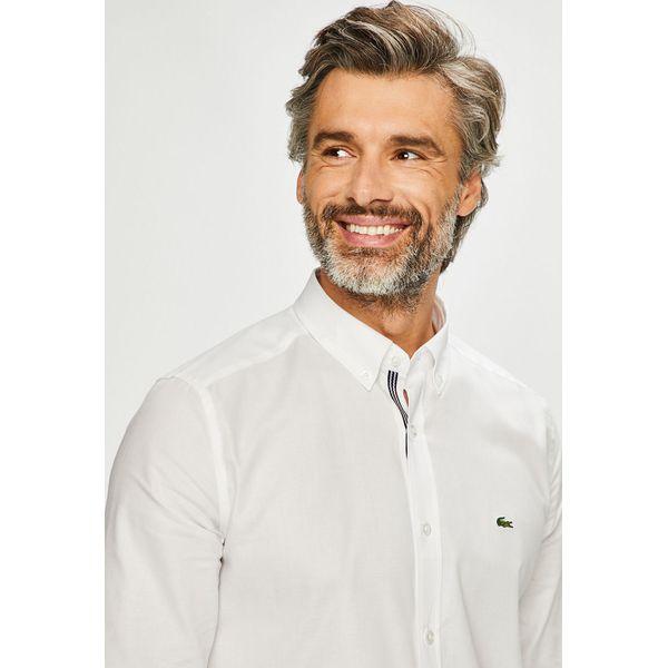 e4612ebae Lacoste - Koszula - Koszule męskie marki Lacoste. W wyprzedaży za 359.90  zł. - Koszule męskie - Odzież męska - Mężczyzna - Sklep Super Express