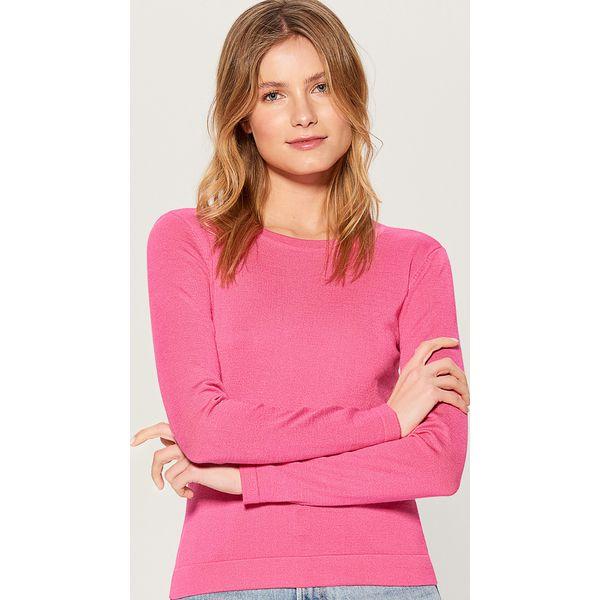 e7d8cd44 Dopasowany sweter - Różowy