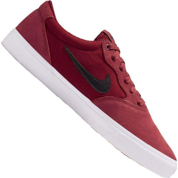 Buty Nike SB Check Solar (843895601,843895 601) Bordowe