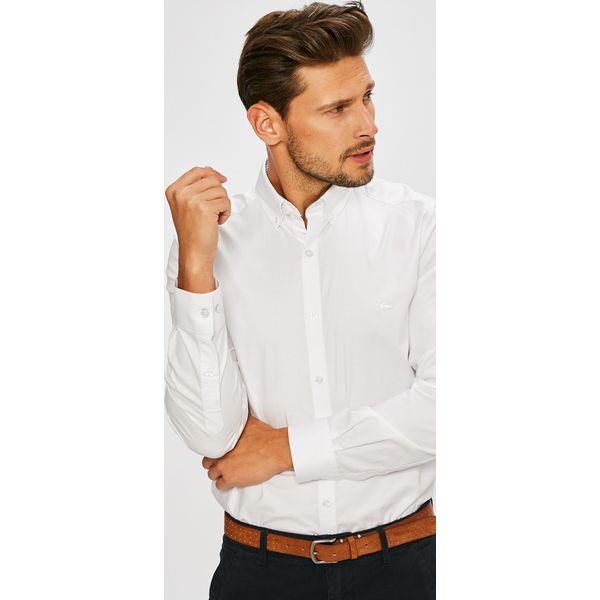 ae7e48656 Lacoste - Koszula - Koszule męskie marki Lacoste. W wyprzedaży za 339.90  zł. - Koszule męskie - Odzież męska - Mężczyzna - Sklep Super Express