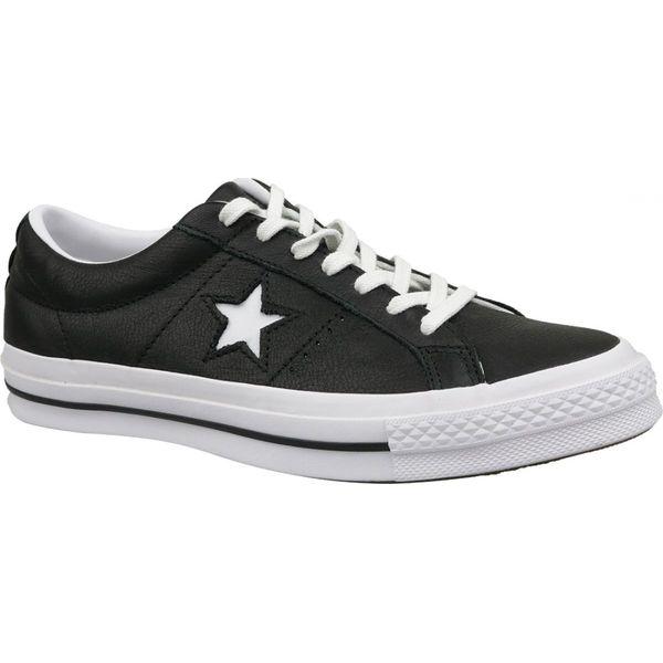 Buty Converse One Star Ox M 163380C czarne ButyModne.pl