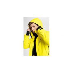 8e02ae72a Żółte kurtki narciarskie i snowboardowe damskie marki 4f, primaloft ...