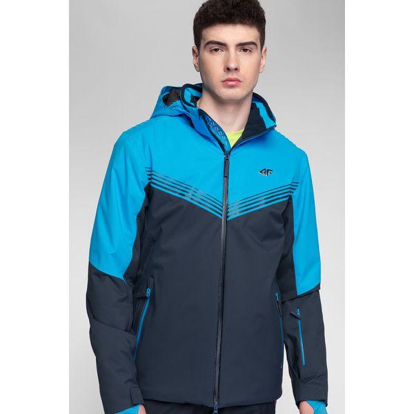 673340d097142 Kurtki narciarskie męskie ze sklepu 4F, narciarskie, Dermizax - Kolekcja  wiosna 2019 - Sklep Super Express
