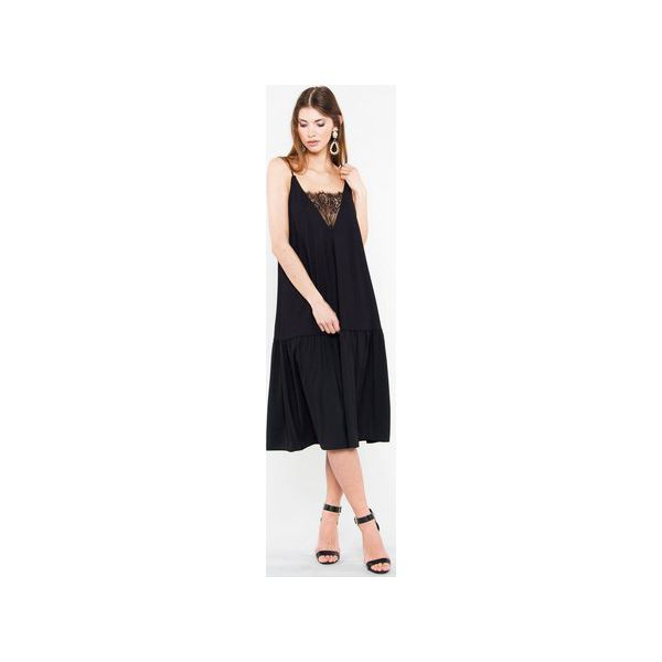 0751daa81b671b Sukienka Dream Lace - Czarne sukienki damskie Candy floss, bez ...